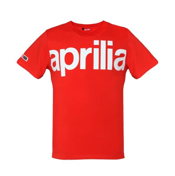 Aprilia Wide T-Shirt rot