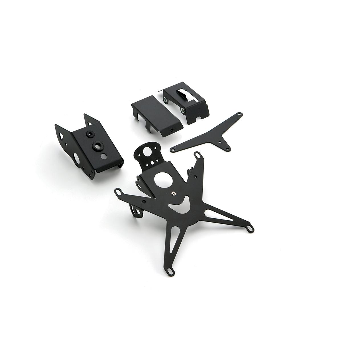 kennzeichentr ger racing aluminium f r aprilia dorsoduro. Black Bedroom Furniture Sets. Home Design Ideas