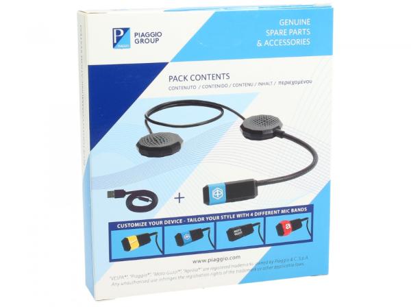 Bluetooth Kommunikationssystem Vespa / Piaggio / Aprilia / Moto Guzzi