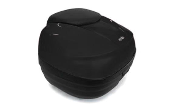 Top Case, schwarz, 40 L für Aprilia Caponord