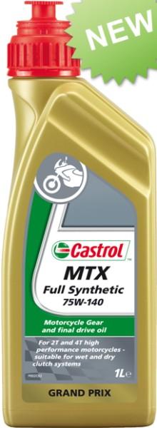 Castrol Getriebeöl, 75W/140, MTX Full Synthetic, vollsynthetisch, 1 l