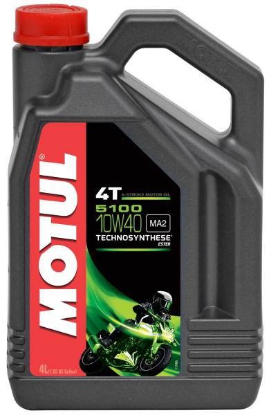 Motul 5100 10W40 4T Motorenöl - 4 Liter