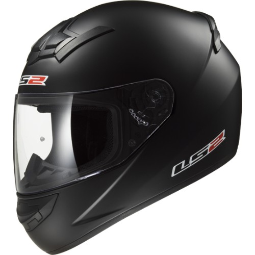 LS2 Helm FF352 Rookie Single Mono Matt Schwarz