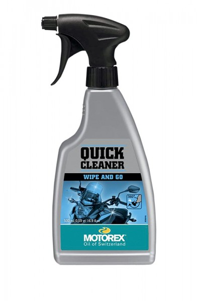 Motorex Quick Cleaner Spray 0,5l VE12, Motorrad-Reiniger, Spray, 0.50 Liter