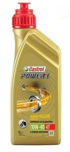 Castrol Motoröl 4 Takt, 10W/40, Power 1, HC-Synthese, 1 l